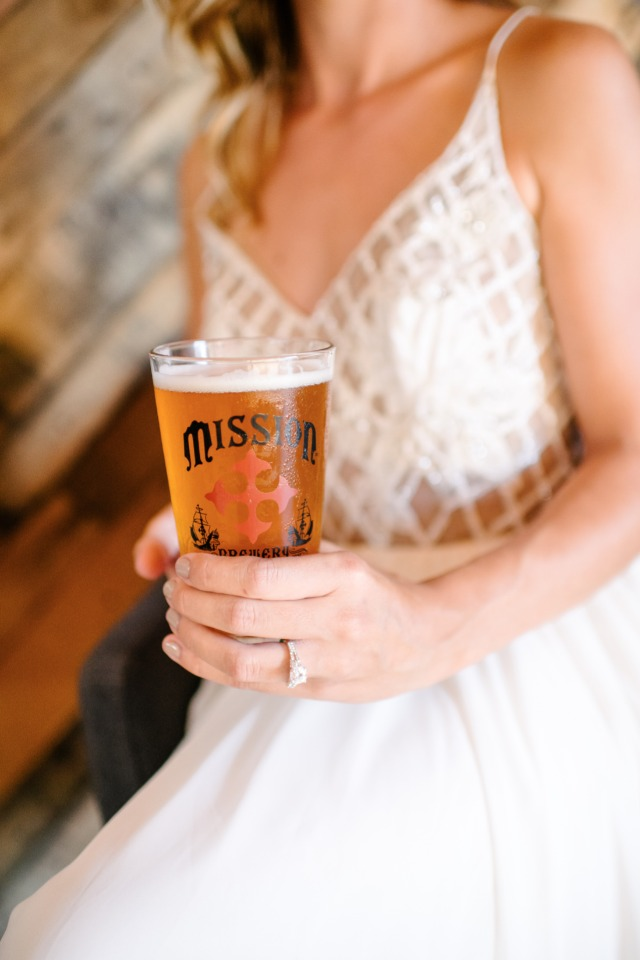 Mission Brewery wedding