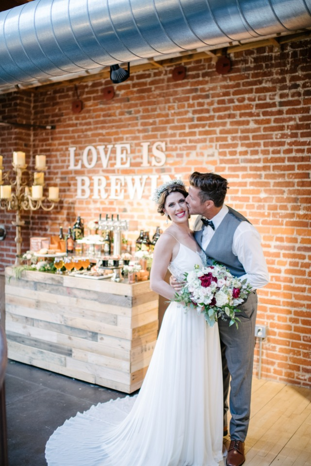 love is brewing wedding bar