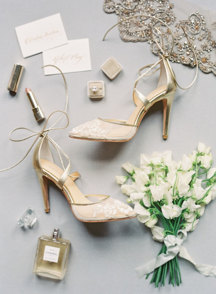 Perfect shoes for a spring wedding