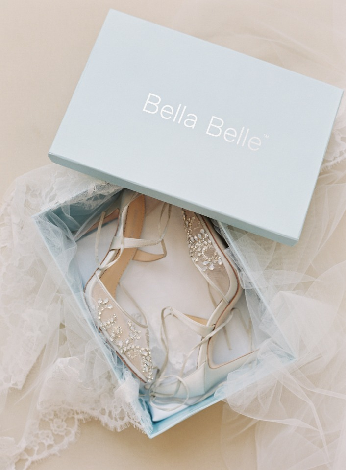 Sparkly shoes from Bella Belle