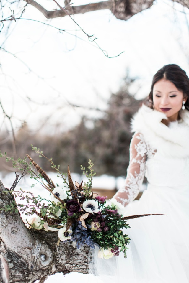 Winter wedding ideas from Maine