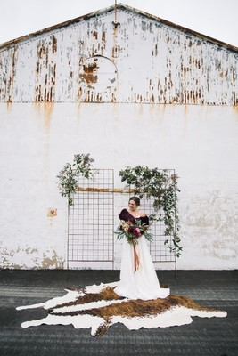 Offbeat Boho Mixed with Industrial Chic Wedding Ideas in Boston