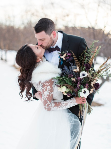 wedding ideas for a winter wedding burgundy and blue winter wedding ideas from maine 28110