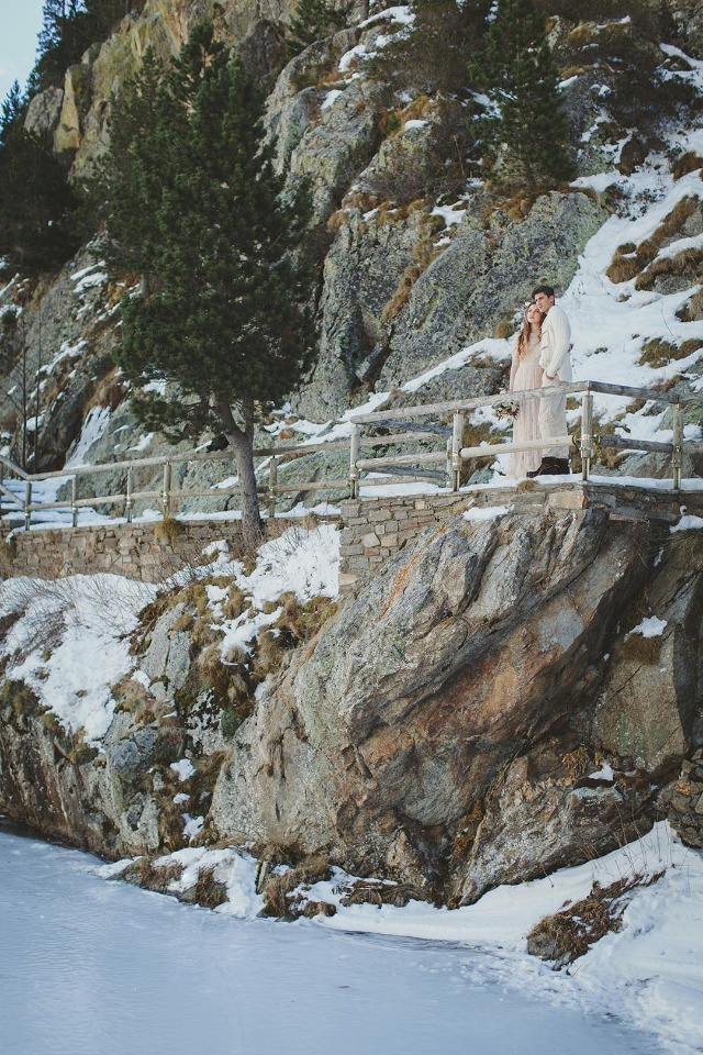 Frozen winter wedding ideas