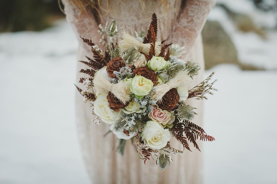 Wintery bouquet