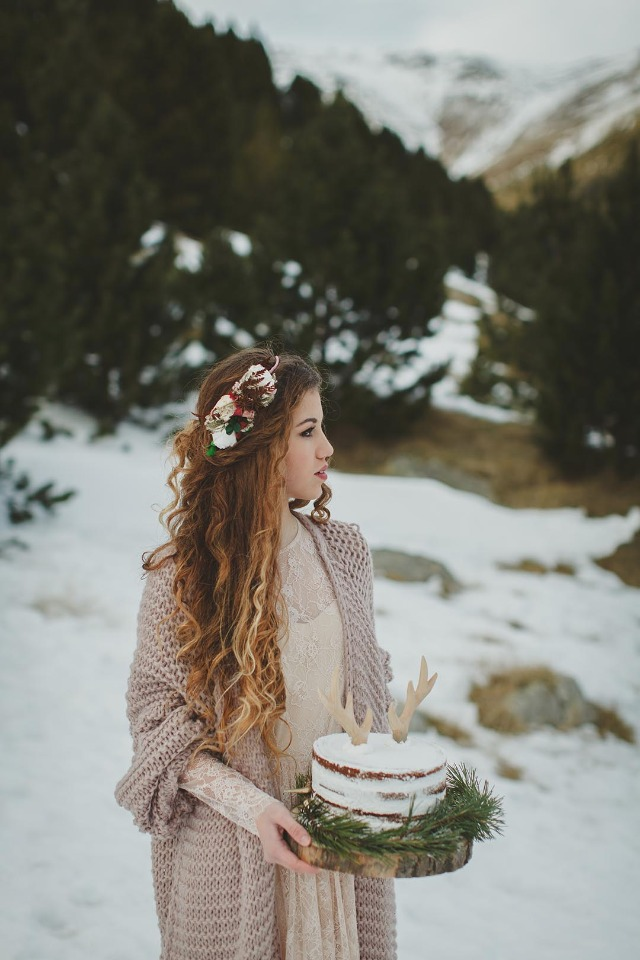 Boho winter wedding ideas