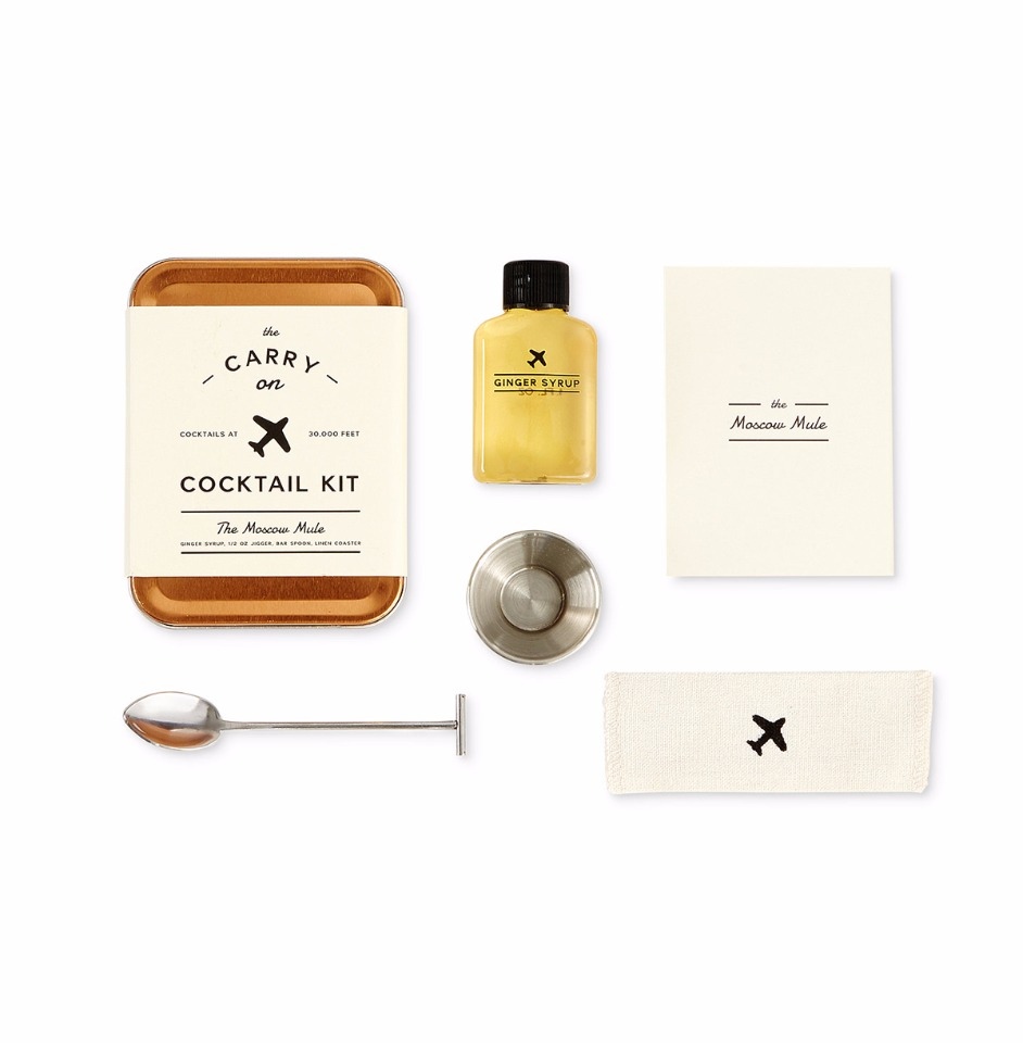 this carry on cocktail kit is perfect for travel