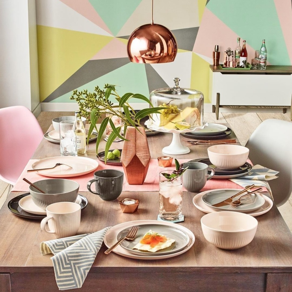 on trend and stylish dining room from @macys