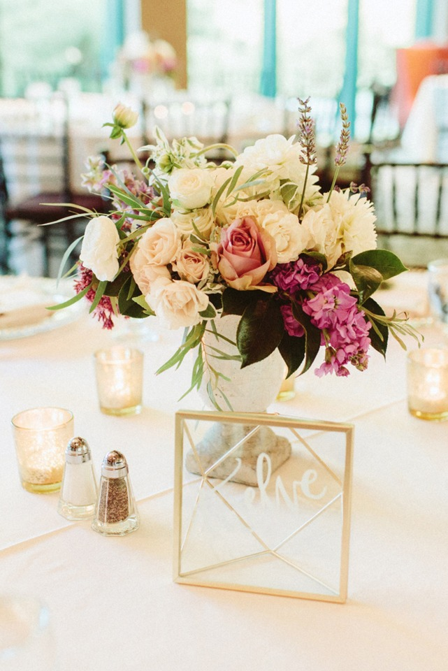 Pretty floral centerpiece