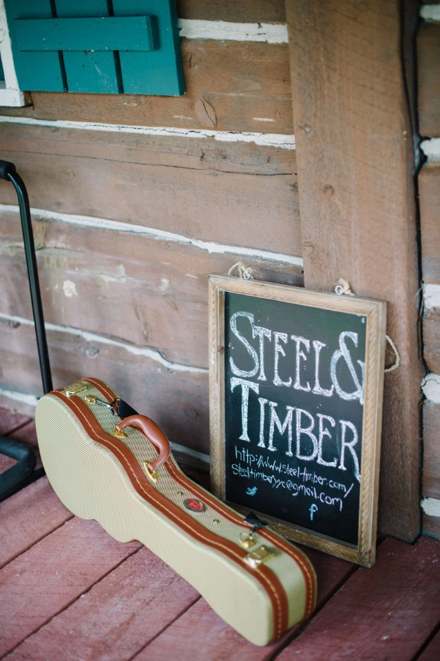 steel and timber wedding music