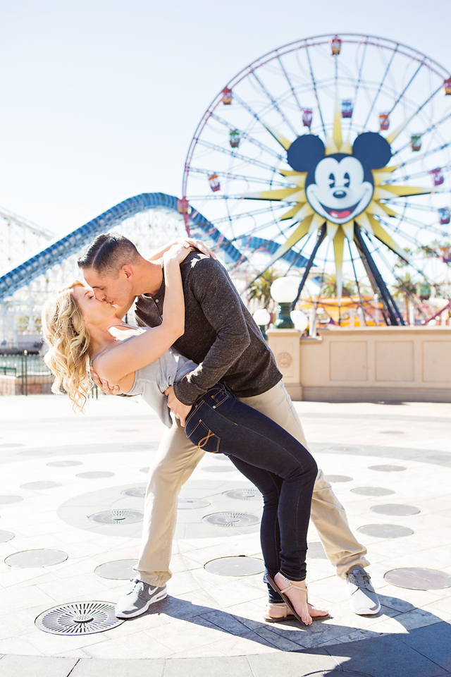 Proposal at Mickey's Ferris Wheel at Disneyland California Adventures