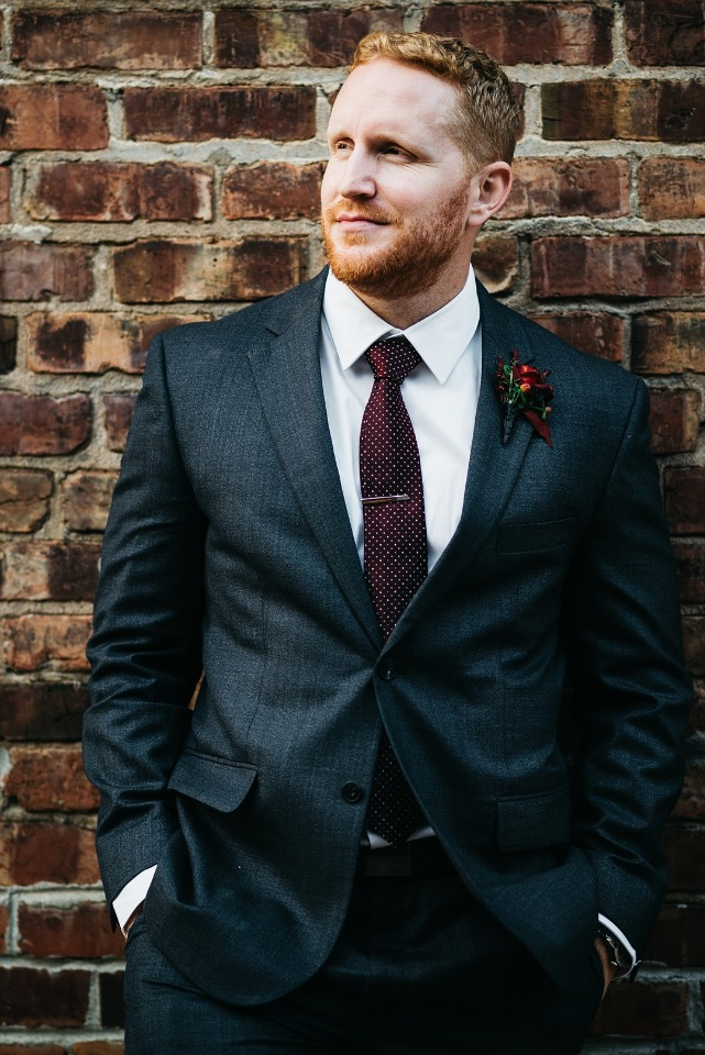 Handsome groom