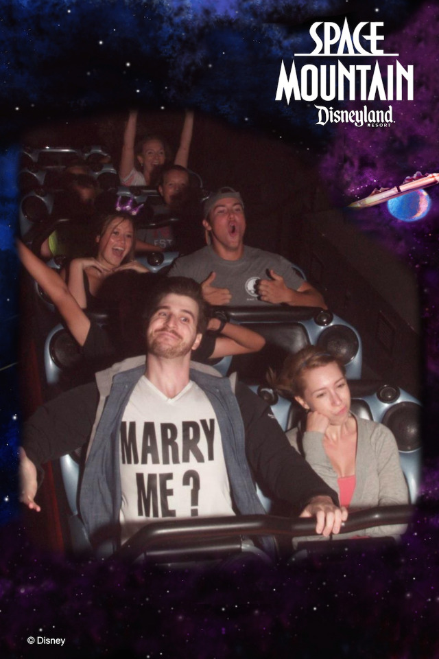 Marry Me? Space Mountain Syle.
