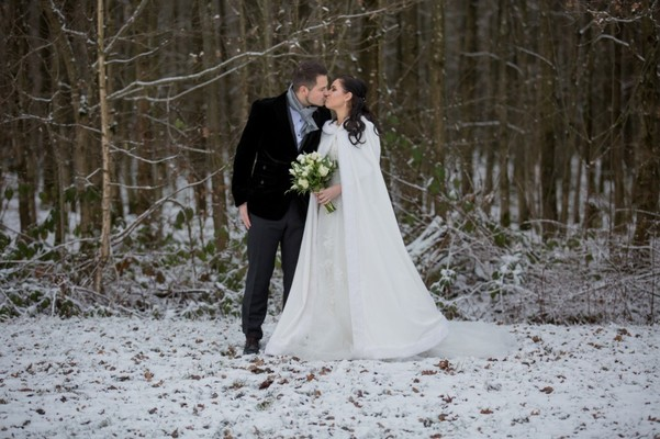 Natural Rustic Winter Wedding Inspiration From Germany