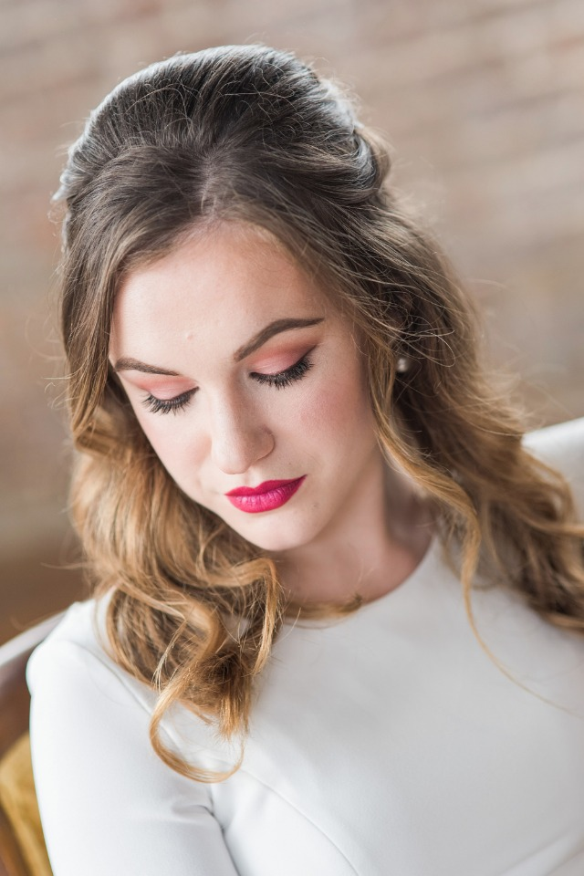 wedding makeup and hair ideas