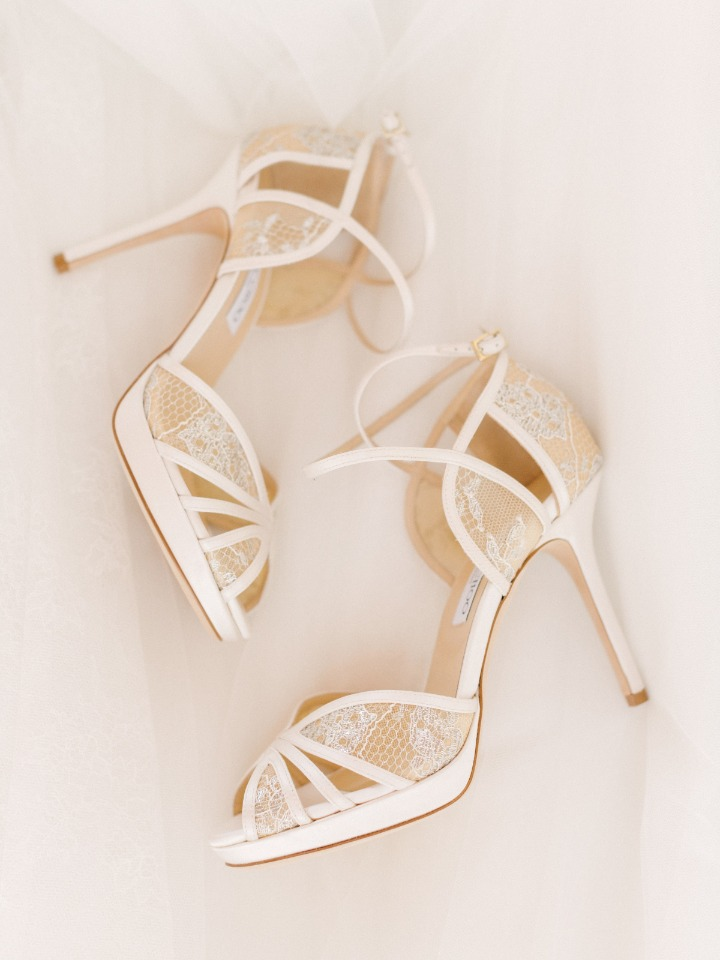 Lacey wedding heels