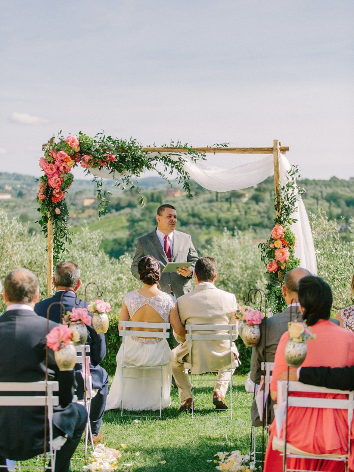 Getting married under the Tuscan sun
