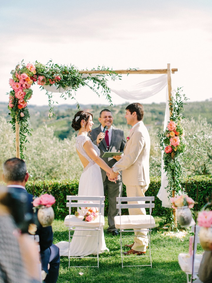Gorgeous wedding in Tuscany