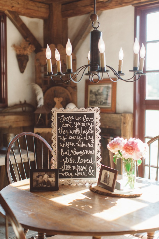 antique wedding decor for your rustic boho wedding