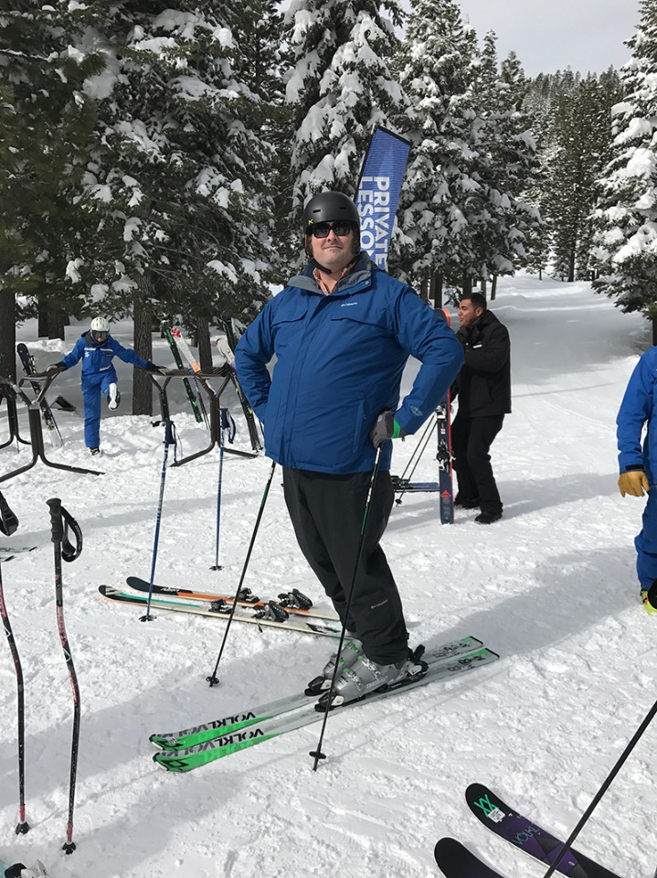 Private ski lessons at Northstar California Resort