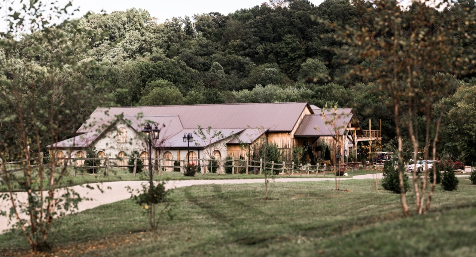 Lovely rustic venue
