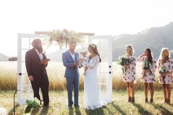 This Rustic Boho Wedding in Southern California Took 2 Years To Plan