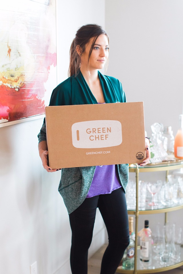 Green Chef organic meal delivery service