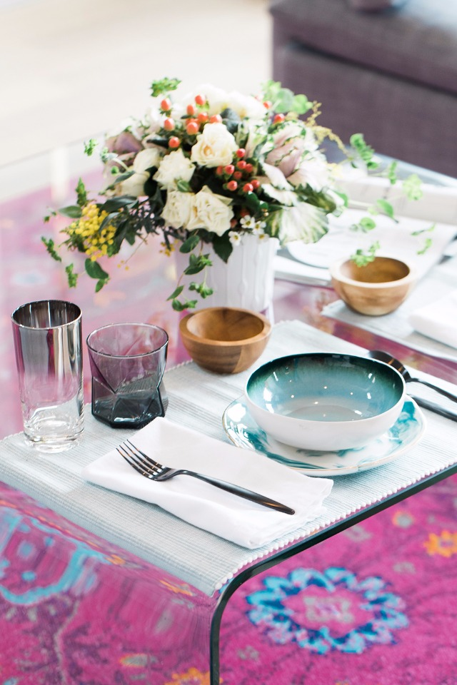 how to create a romantic dinner for two