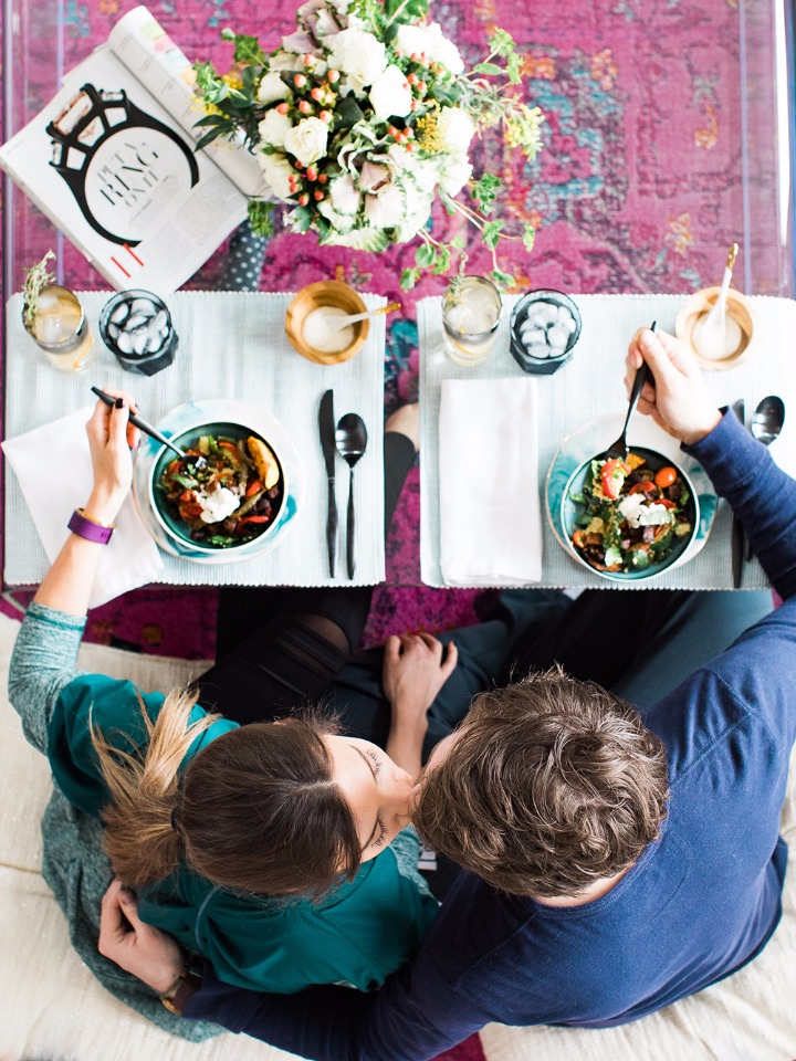 spend quality time together with Green Chef