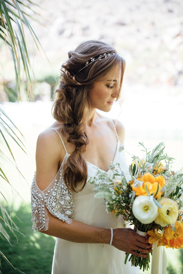 beautiful boho bride