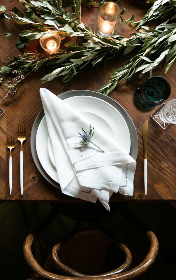 lovely flatware wedding place setting