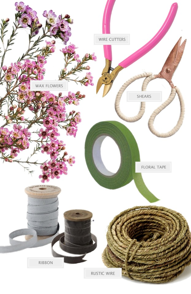 Flower crown DIY supplies