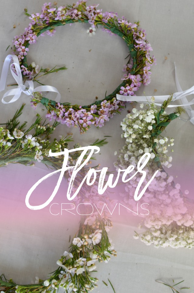 Learn how to make your own flower crown