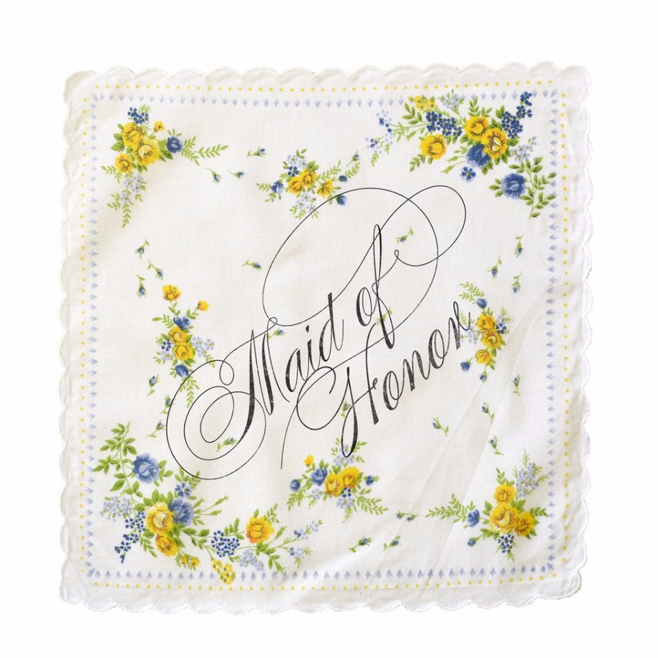 maid of honor hankie