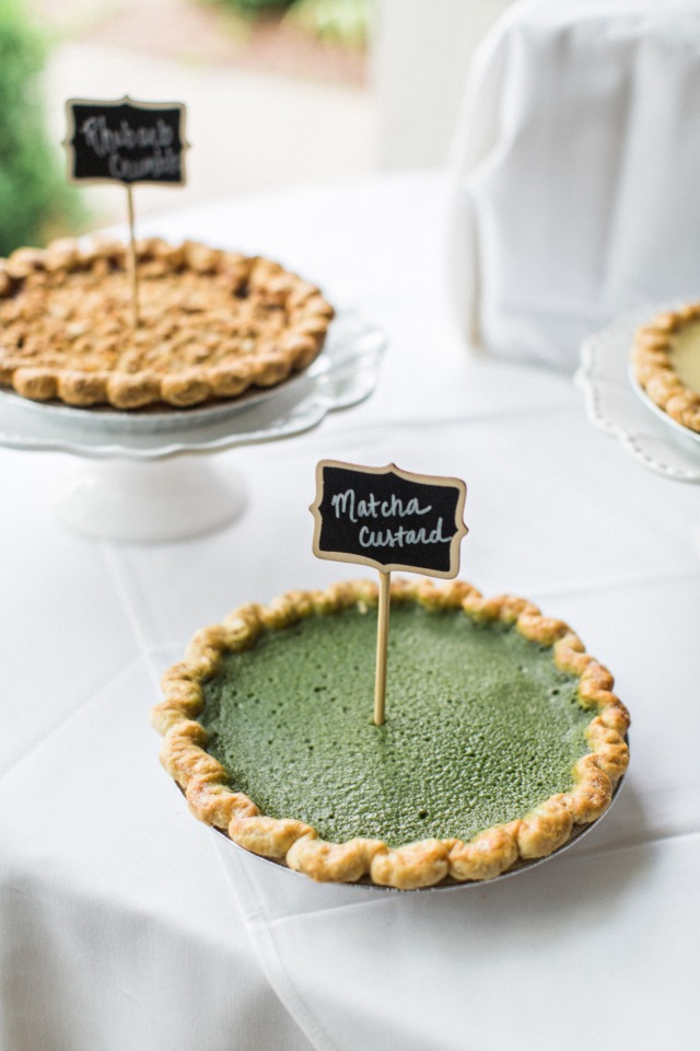 unique wedding pie flavors
