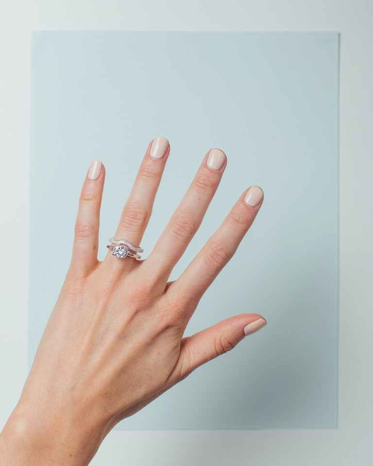 A custom engagement ring made just for you from Spence Diamonds