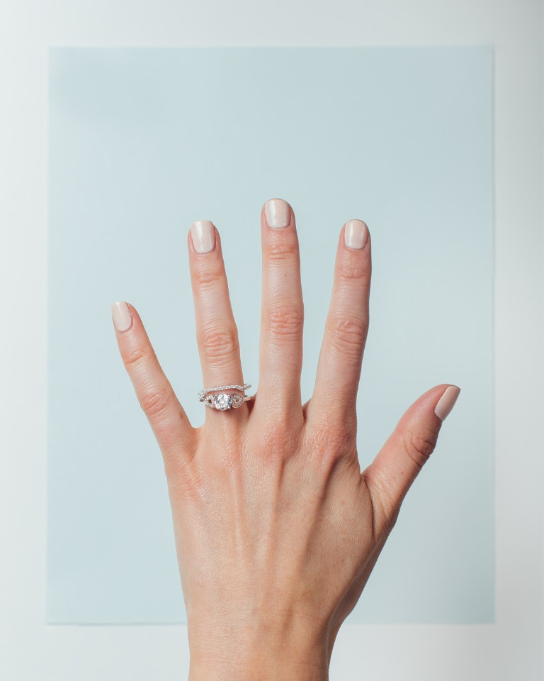 unique engagement ring from Spence Diamonds