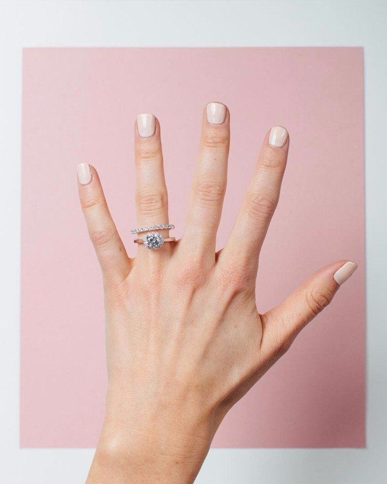 halo engagement from Spence Diamonds