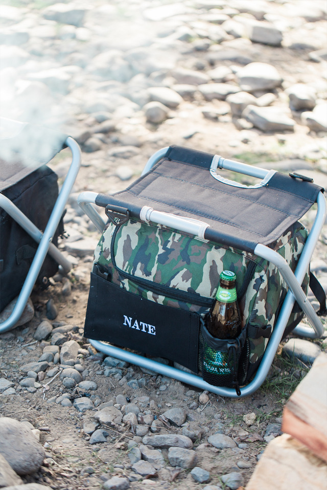 personalized sit 'n sip cooler from The Man Registry