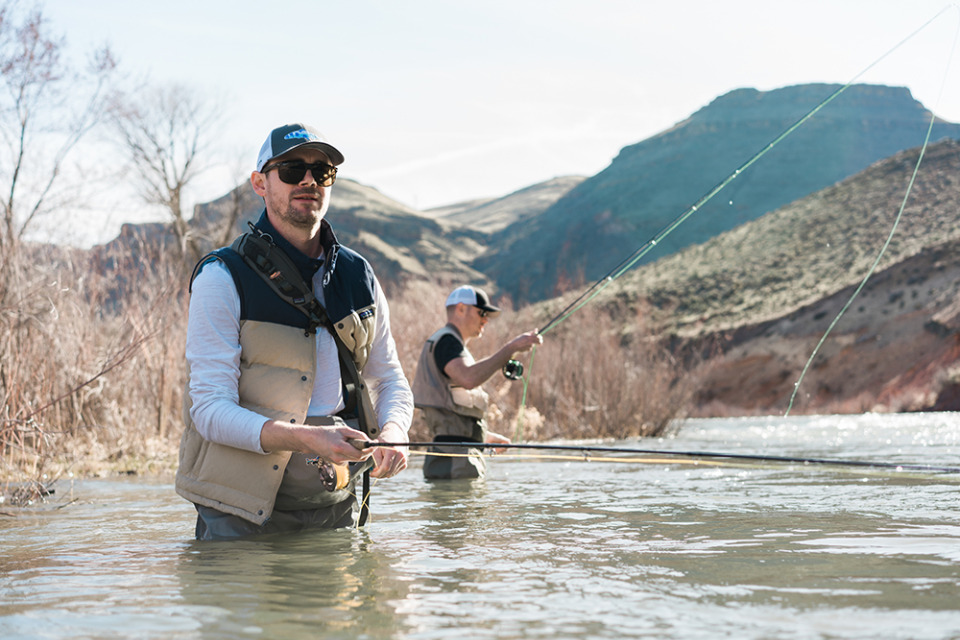 Fly fishing in Boise, Idaho