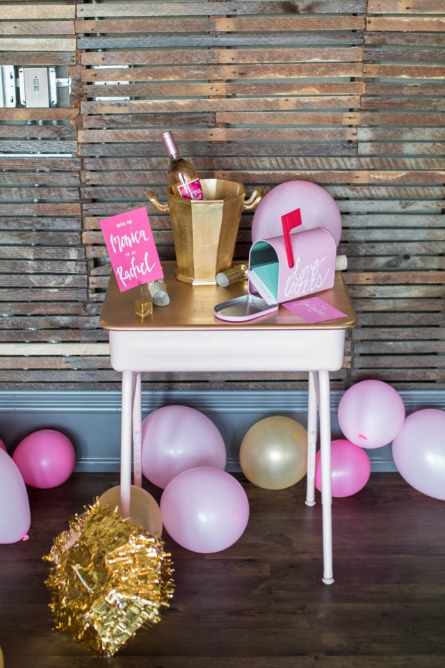 gift and card table