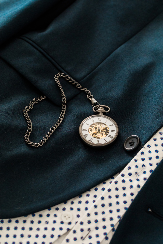 Groomsmen gift idea - personalized pocket watch