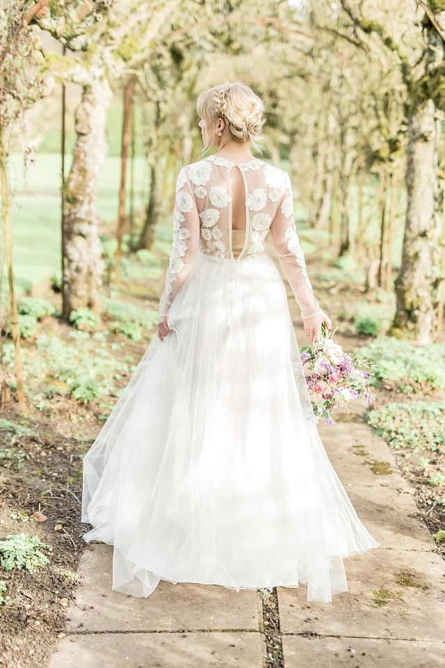 Gorgeous spring wedding dress