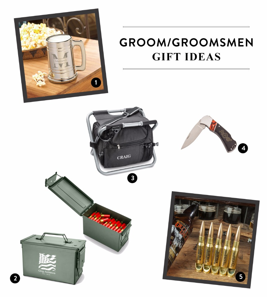 unique groom and groomsman gift ideas