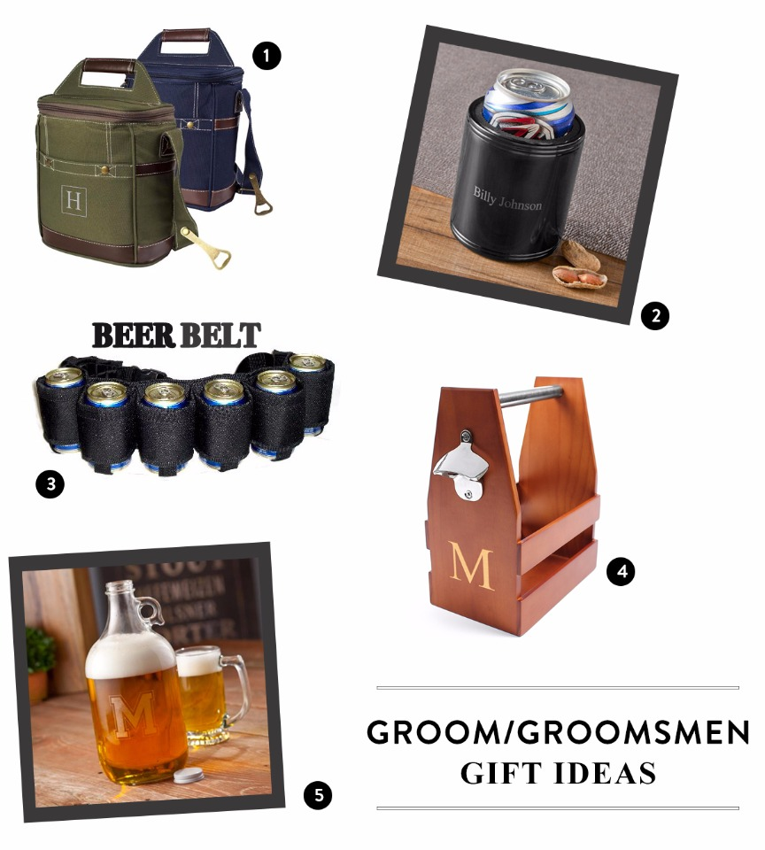 personalized and stylish groomsmen gifts for the craft beer drinker