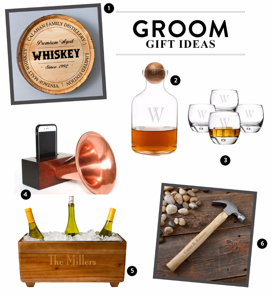 Groom gift ideas from The Man Registry