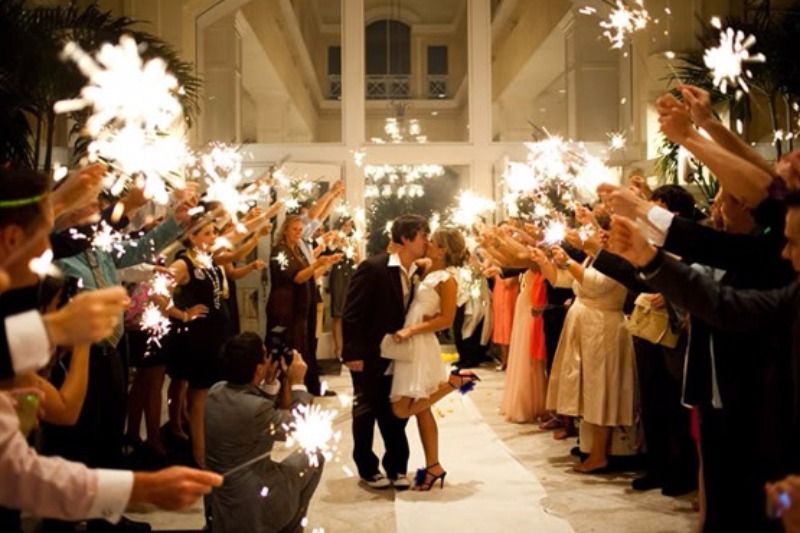 Inspiration Image from Grand Wedding Exit