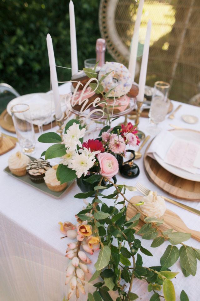 summer wedding table decor