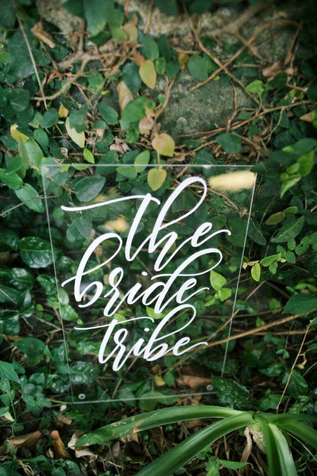 the bride tribe sign