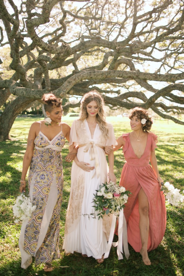 cute bridal party style for fun and funky women